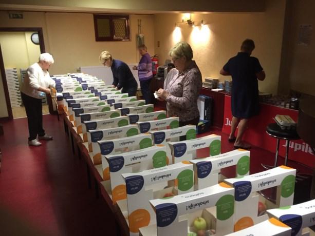 Samana Kanne brengt ontbijtpakketten aan huis