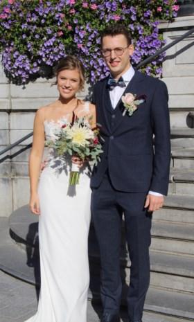 Michelle en Mathias in Hasselt
