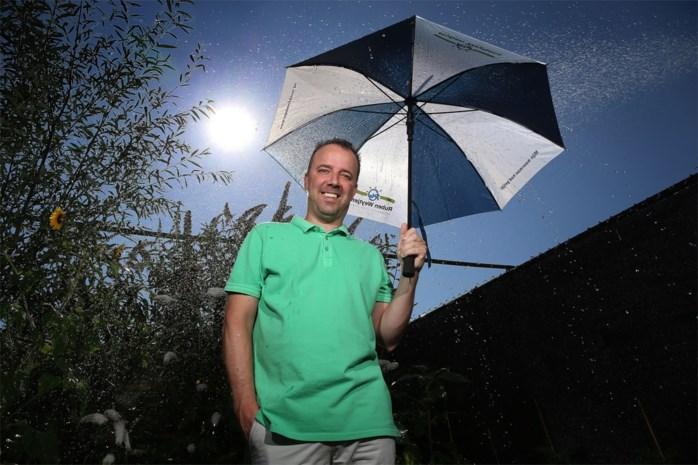 """Onze weerman Ruben Weytjens: """"Zwoel met vanavond weer buien"""""""