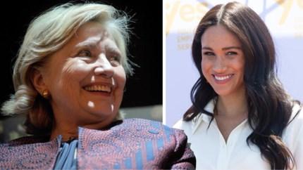 Hillary Clinton neemt het op voor Meghan Markle