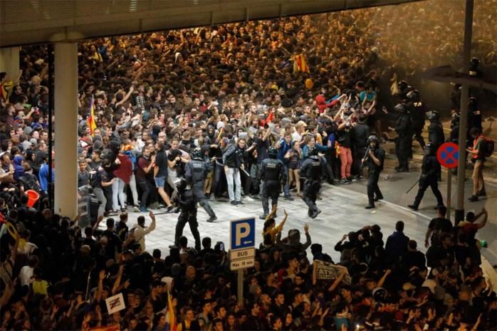 OPROEP. Limburgers gezocht die getuige zijn van Catalaanse protestacties in Barcelona