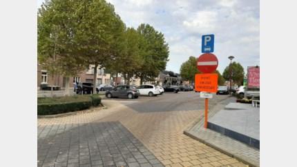 Eenrichtingsverkeer op centrumplein
