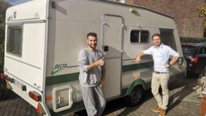 Vzw Homie erft tweede caravan om dakloze jongeren te helpen