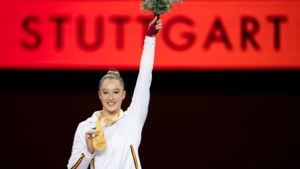 WK-goud levert Nina Derwael slechts schamele premie op, maar daar maalt ze niet om