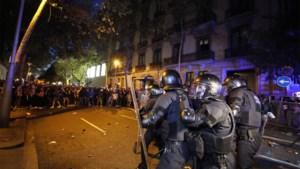 Opnieuw zware protesten in Catalonië tegen veroordeling separatisten