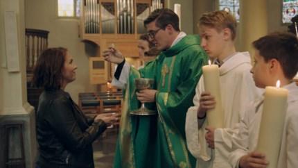 Priester Wim bij Siska