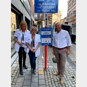Shop & go parkeren van start in Tongeren-Centrum