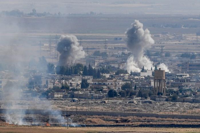 """""""Koerden heroveren belangrijke grensstad op Turkije"""""""