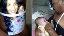 """Vader heeft unieke manier om baby te voeden als mama niet thuis is: """"Ik moest improviseren"""""""
