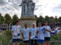 Leerlingen Middenschool Campus Van Eyck zetten beste beentje voor op stratenloop