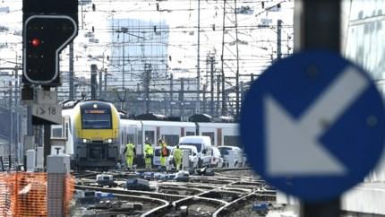 Treinverkeer was dinsdag zwaar verstoord door technische ingreep