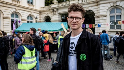 "Extinction Rebellion: ""We betalen niemand om te demonstreren"""