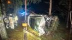 Zwaargewonde bij zware crash in Zonhoven