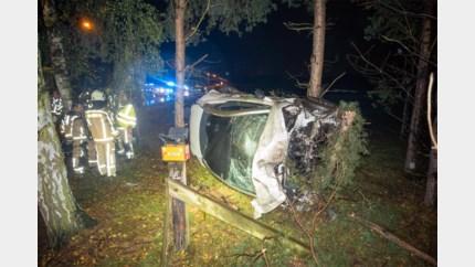 Zware crash in Wijvestraat