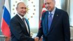 """Poetin nodigt Erdogan in telefoontje uit voor bezoek aan Rusland in """"de komende dagen"""""""