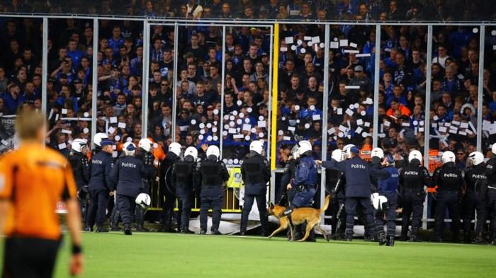 KRC Genk maakt afspraken met fans na gestaakte Limburgse derby