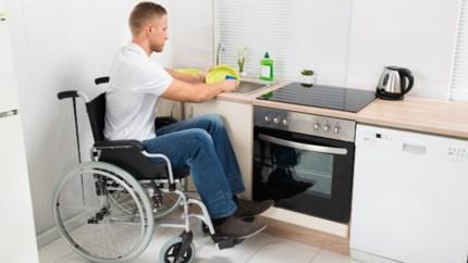 Aanpassing budget voor 20.000 personen met handicap