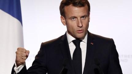 "Macron: ""Brexit-akkoord wordt gefinaliseerd"""