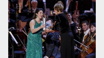 Peerse harpiste wint 'Oscar' van klassieke muziek