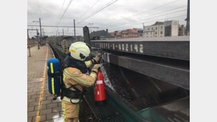 Brandje in station Tongeren door pas gegoten metaalplaten