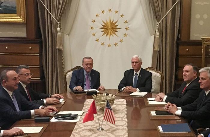 Turkije schort operatie in Syrië op