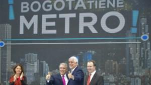 Chinees consortium gaat het metronetwerk van Colombiaanse hoofdstad aanleggen