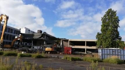 Scholieren volgen sloop Concentra-gebouw