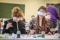 PXL-studenten maken blind kunstwerken