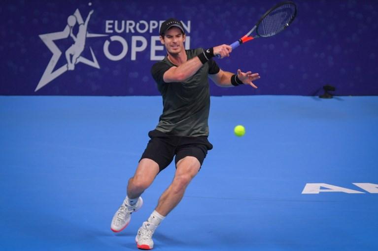 """Andy Murray bereikt al zwoegend halve finales European Open: """"Beetje bij beetje keer ik weer terug naar mijn oude niveau"""""""