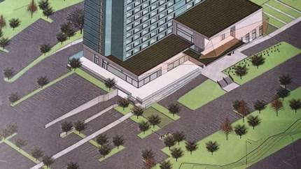 Ham krijgt Van der Valk-hotel van 43 meter hoog, Burger King komt niet
