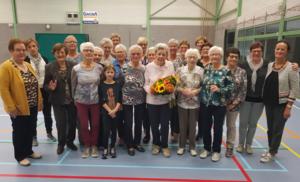 90-jarige gevierd tijdens lijndansuurtje