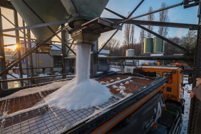 Limburgse gemeenten gewapend tegen vrieskou met 3.513 ton strooizout