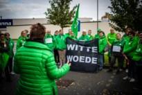 Boze verplegers en zorgkundigen op straat