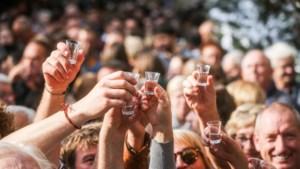 Feestprogramma voor dertigste Jeneverfeesten