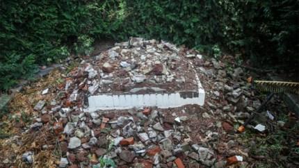 Door Danny Vanhamel vernielde kapel in Linkhout (misschien) heropgebouwd
