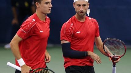 Sander Gille en Joran Vliegen grijpen naast finale in dubbelspel European Open