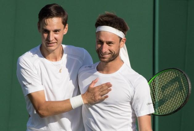 """Joran Vliegen en Sander Gillé teleurgesteld na missen van dubbelfinale European Open: """"Het hing af van een of twee ballen"""""""