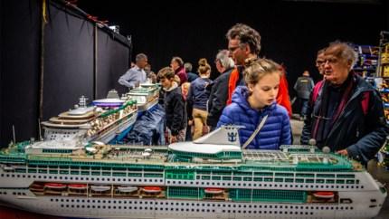 IN BEELD. Na vier jaar afwezigheid rijden de modelbouwtreintjes weer in de Limburghal