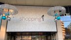 Kerstverlichting aan Shopping 1 is test