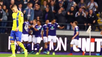 HERBELEEF. STVV met 4-1 onderuit tegen Anderlecht