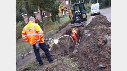 Delen van Linkhout en Zelem urenlang zonder water door waterlek