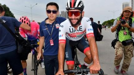 Fernando Gaviria juicht opnieuw in China