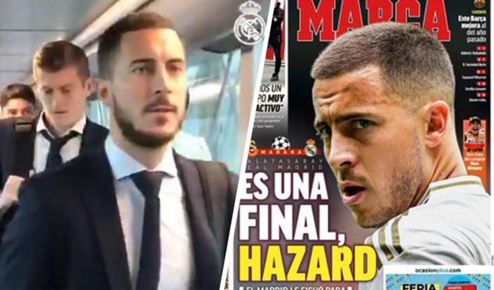 Eden Hazard van roze wolk gerukt bij Real Madrid: alle druk op zijn schouders