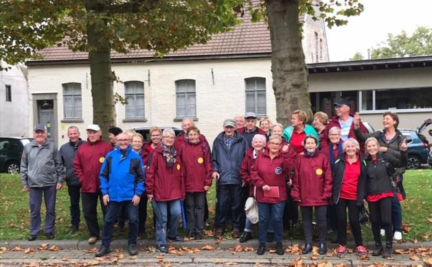 De Grevenbroekers wandelen in de Vlaamse Ardennen