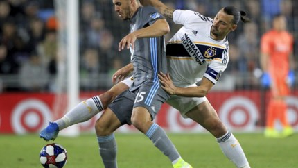 Ibrahimovic stoot met LA Galaxy door in play-offs