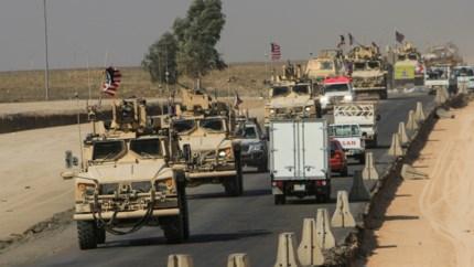 Amerikaanse troepen betreden Irak vanuit Syrië