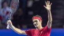 Roger Federer wint met glans zijn 1.500ste wedstrijd op de ATP-tour