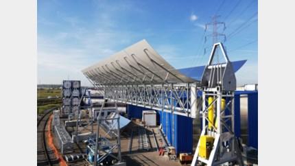 Genks bedrijf opent eerste zonnespiegelpark in Kallo