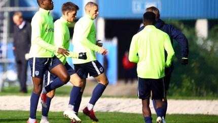 IN BEELD. KRC Genk traint in aanloop naar clash tegen Liverpool