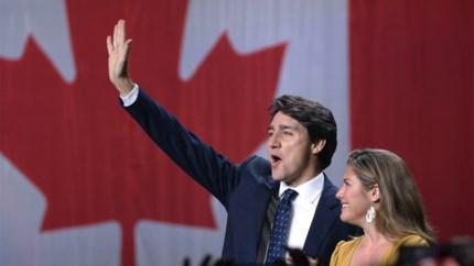 Liberale Partij van Canadese premier Trudeau opnieuw de grootste